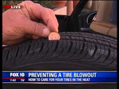 Community Tire Pros: Tire Safety Community Tire Pros: Tire Safety Preventing a Blow Out Video Fox News 10 http://youtu.be/G6W1OdG88r4 via @YouTube
