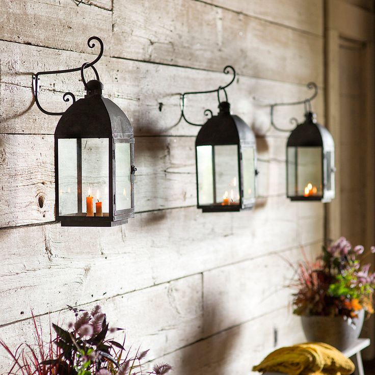 43 best outdoor lanterns images on Pinterest | Candle lanterns ...