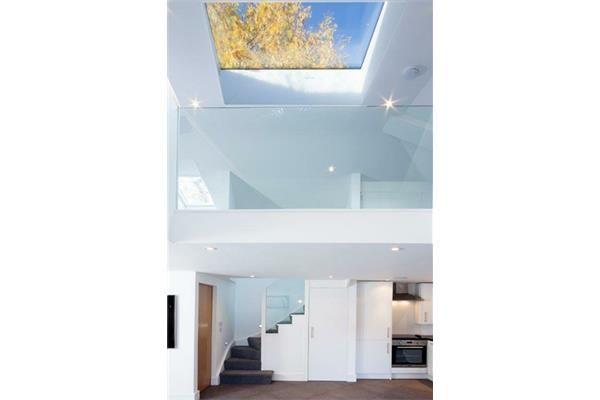 Sunsquare SkyView flat glass rooflight 80x80cm