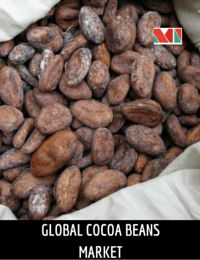 Cocoa beans are primarily used as raw material for chocolate and 90% of the global cocoa beans produced are consumed for chocolate production. On an average, around 4 million metric tons of cocoa beans are produced each year. Global production of cocoa beans during 2015 was 4.36 million metric tons.