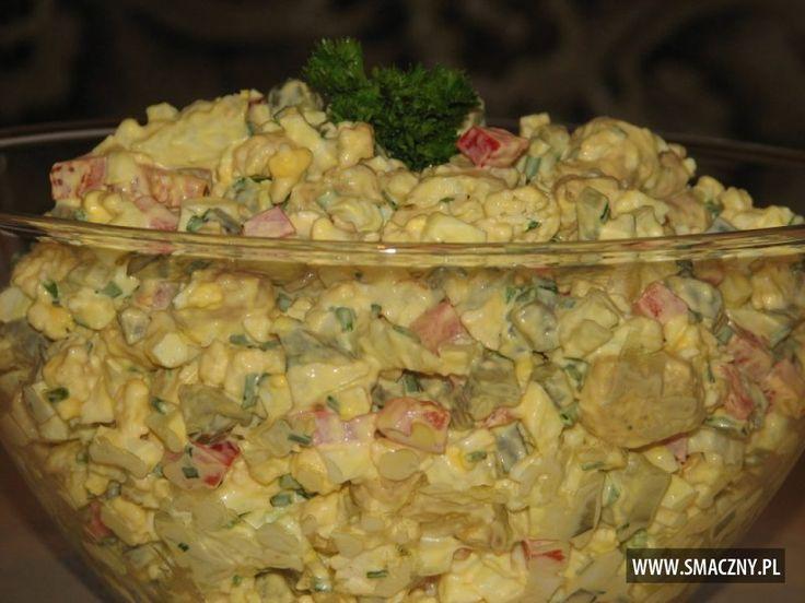 Sałatka kalafiorowa z kurczakiem to fajny pomysł na dzisiejszą kolację:   http://www.smaczny.pl/przepis,salatka_z_kurczakiem_i_kalafiorem  #przepisy #sałatki #sałatkazkurczakiem #sałatkazkalafiorem #kurczak #kalafior #jajka #ogórkikiszone