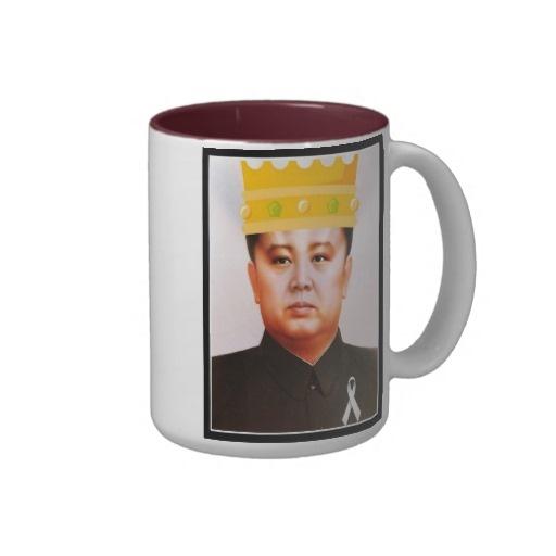 King Kim Jong Il Coffee Mug