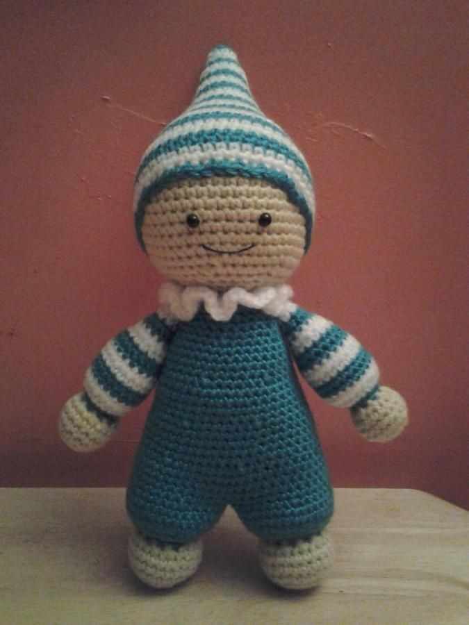 Elvin the Baby Doll - Crochet creation by Sherily Toledo's Talents
