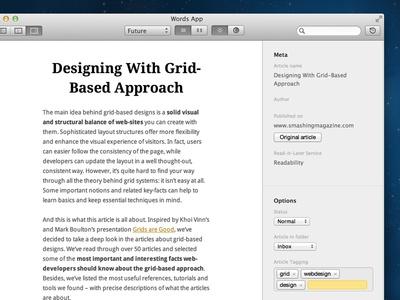 Options Sidebar & Themes & Dark/Light