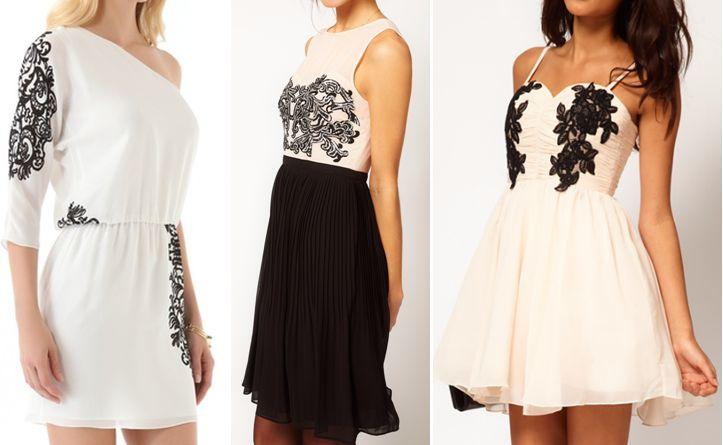 Ажурные платья (платья из кружев)