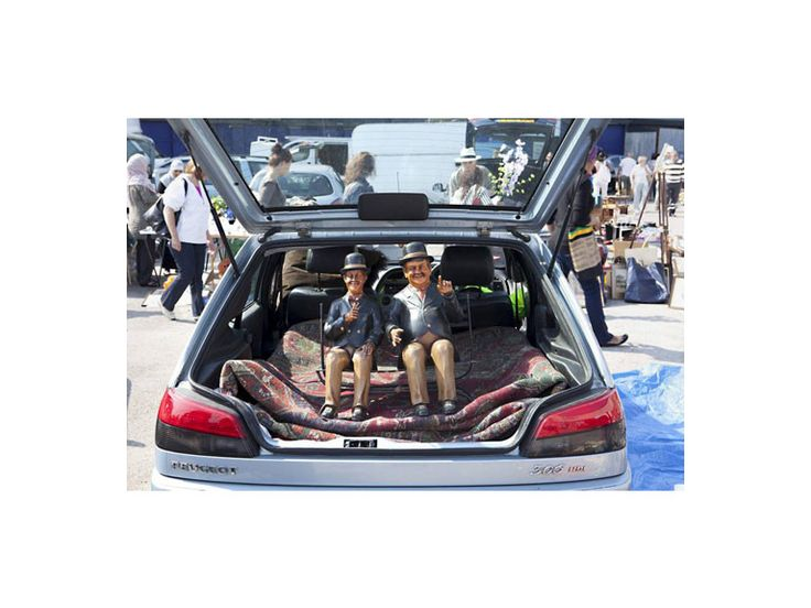 Wimbledon's car-boot sale – ever popular shopping