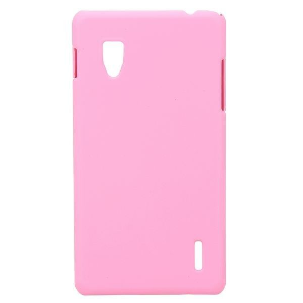 Hard Shell (Vaaleanpunainen) LG Optimus G E973/E975 Suojakuori