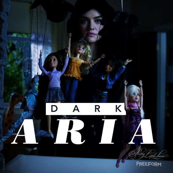 "S7 Ep16 ""The Glove That Rocks the Cradle"" - Oh so dark. #PLLEndGame"