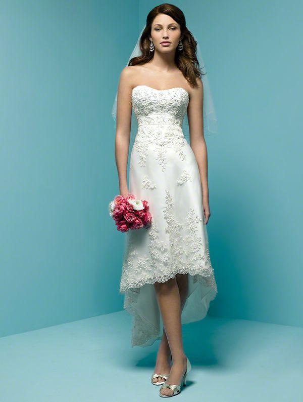 75 best images about Wedding dress hi-low, short on Pinterest | A ...