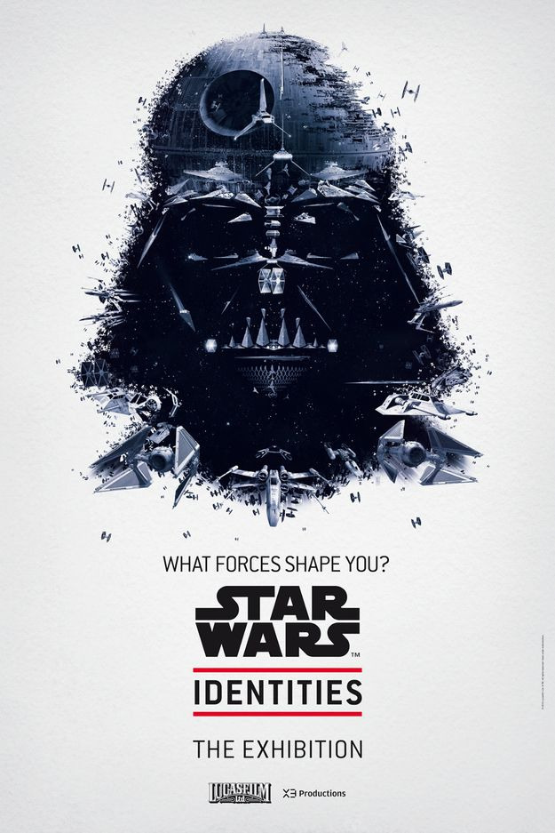 Beautiful Star Wars Poster Campaign - Vader
