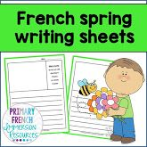 Classroom set up - colour posters - Primary French Immersion Resources