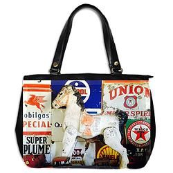 Leather Handbag/Horsepower