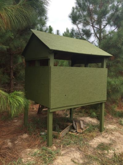 Easy Amp Cheap Homemade Deer Blind Homemade Deer Blinds