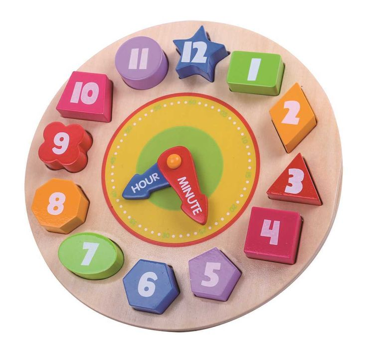 Tick, tock, the clock struck...? Teach to tell the time with this amazing wooden clock puzzle!