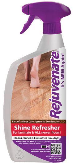 Rejuvenate Floor Shine for laminate - LOVE THIS PRODUCT