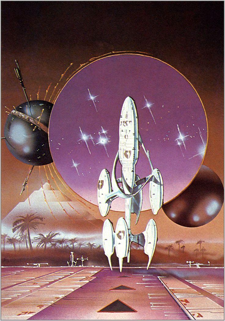 Edward Blair Wilkins (b.1954) — The Landing (736×1050)