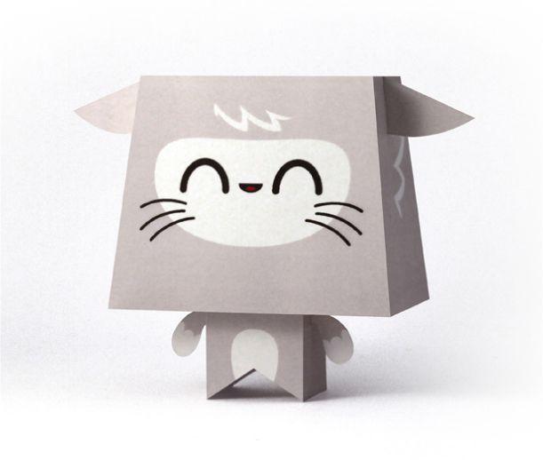 Blog_Paper_Toy_papertoys_Manga_Mania_Kawaii_2