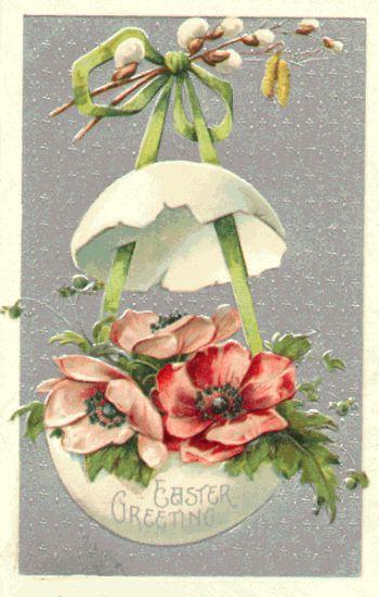 easter postcards vintage | ... , Interior Design Blog, Staging, DIY: Antique Easter Postcards