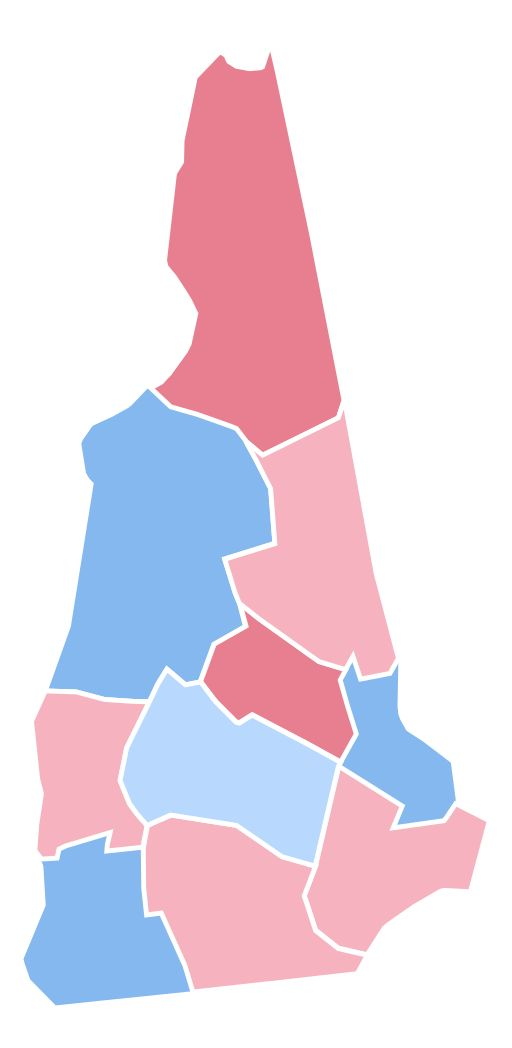 New Hampshire Presidential Election Results 2016