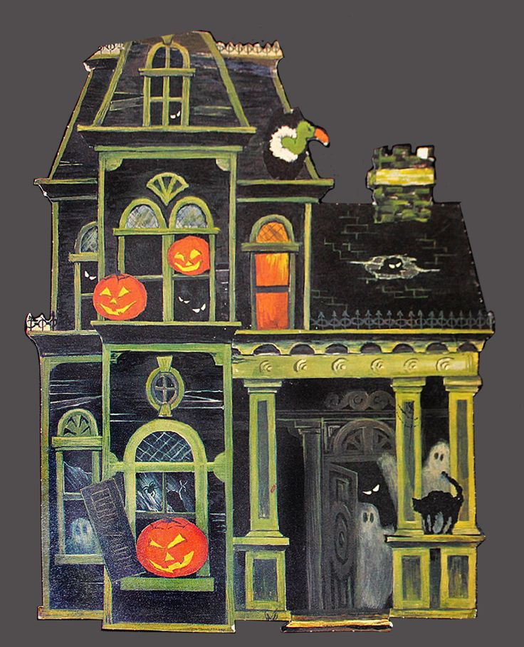 Halloween House Decorations: 47 Best Images About Haunted Houses On Pinterest