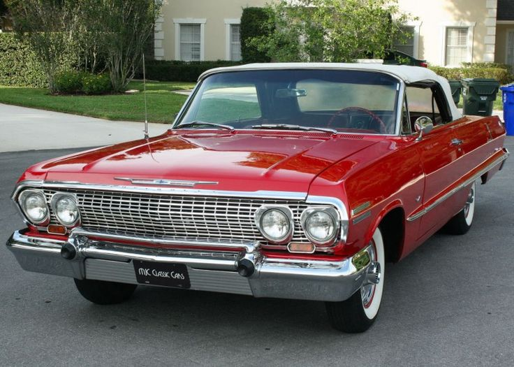 1963 Chevrolet Impala Convertible | MJC Classic Cars | Pristine Classic Cars For Sale - Locator Service