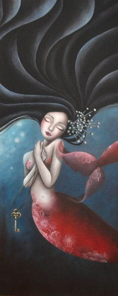 .·:*¨*:·. Whimsy Aquatic .·:*¨*:·. The Mermaid by LadySybile