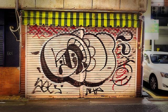 level graffiti