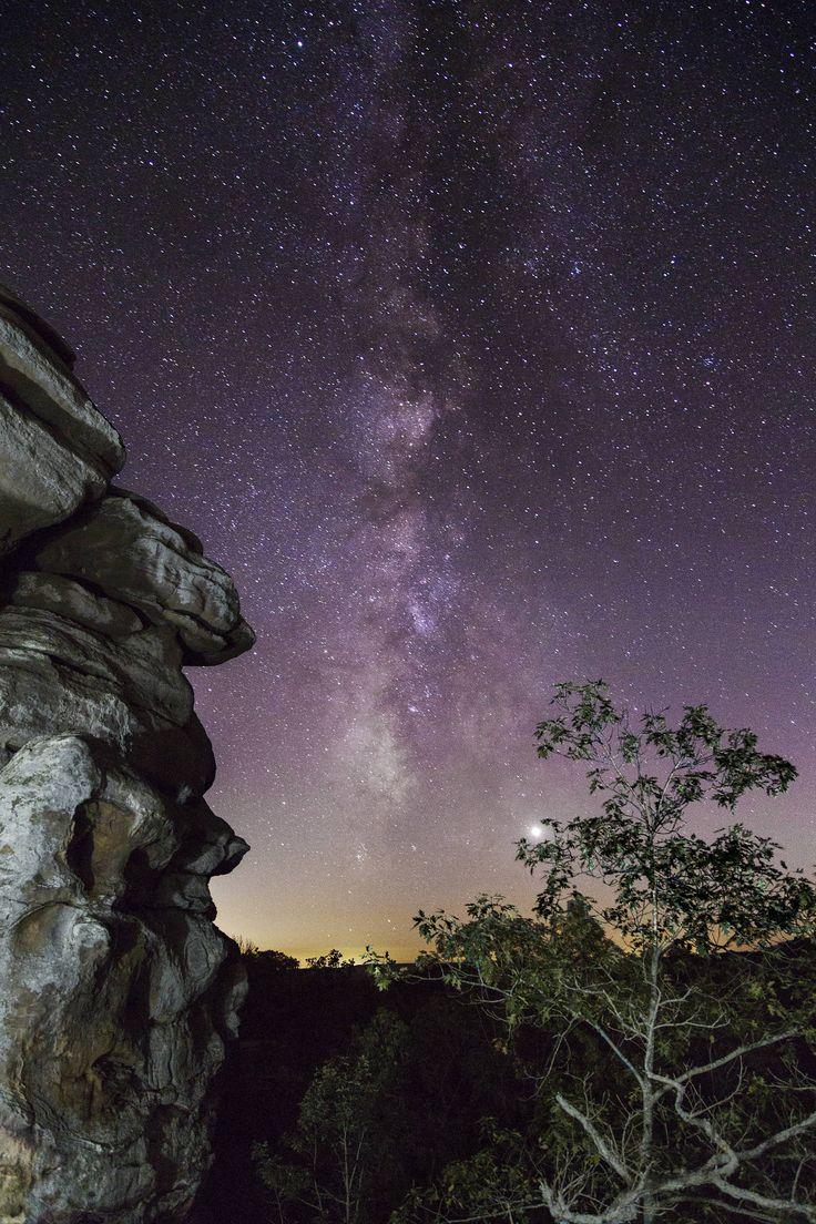 Milky Way From Garden Of The Gods, Herod, Illinois. [2240x3360][
