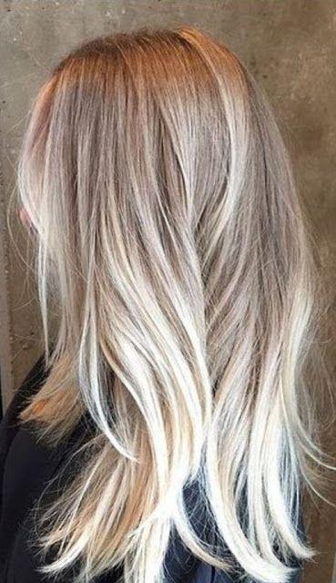 Dirty Snow Kurze Haar Ombre Shawn Poe Pinterest Hair Blonde