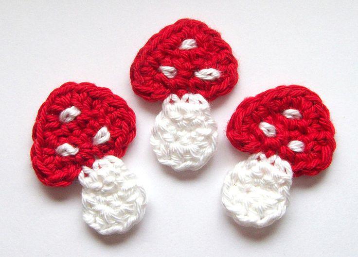 ornament craft cute motif crochet make handmade 14138579