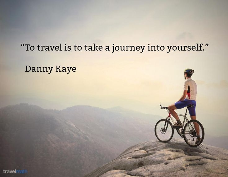 """To travel is to take a journey into yourself."" - Danny Kaye #travelquote"