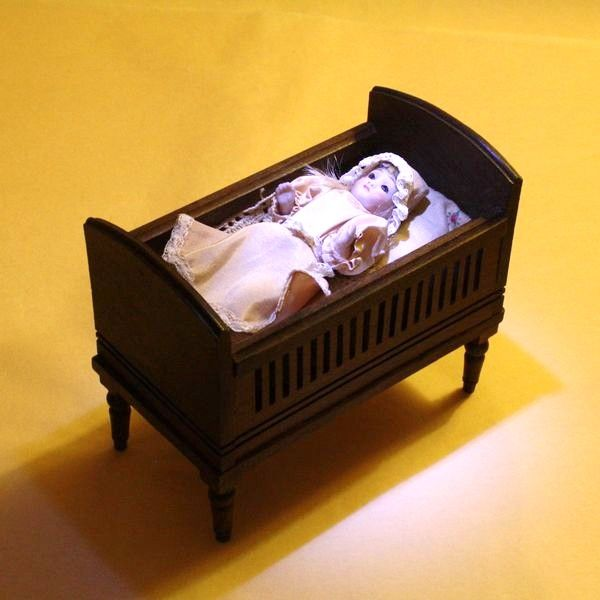 548 best Vintage Dolls House Nursery Furniture images on Pinterest - baby schlafzimmer set