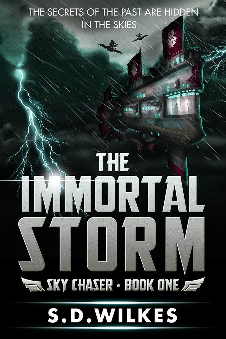 Book cover of The Immortal Storm by S.D. Wilkes.