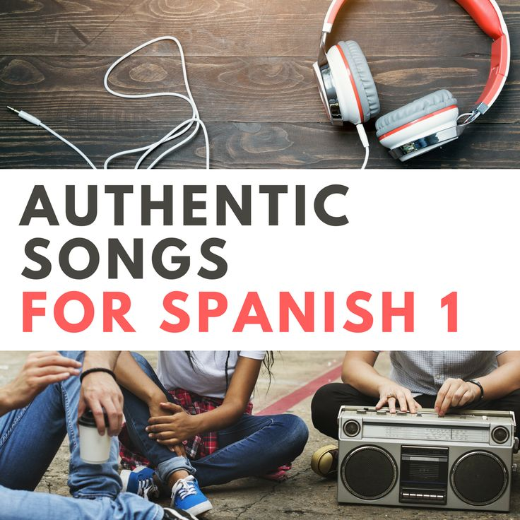 Looking for songs to learn Spanish? Don't miss these 40+ authentic songs, hand-picked for beginner Spanish classes and organized by theme.