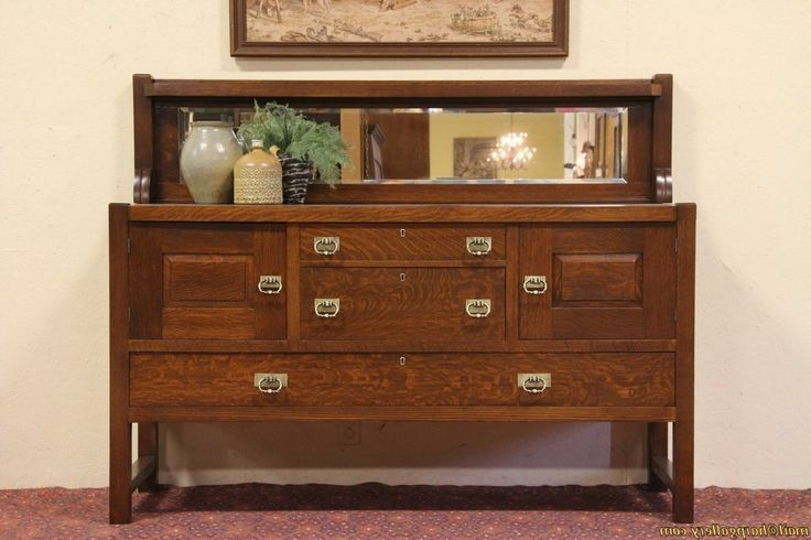Wonderful antique oak sideboard Picture Inspirations