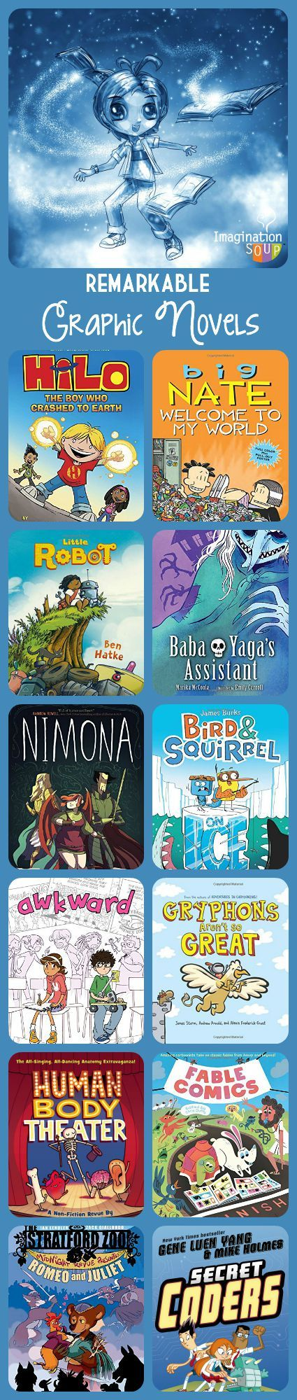 Remarkable Graphic Novels For Kids, Fall 2015