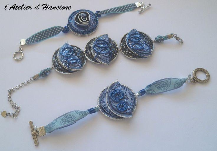 bracelets bleu