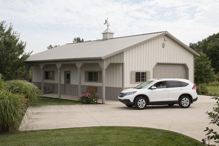 3 Car Pole Barn Garage