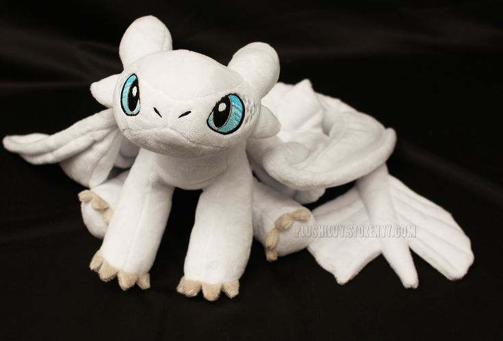 Light Fury Large Plush From Plushiluv Crafts For Mommy