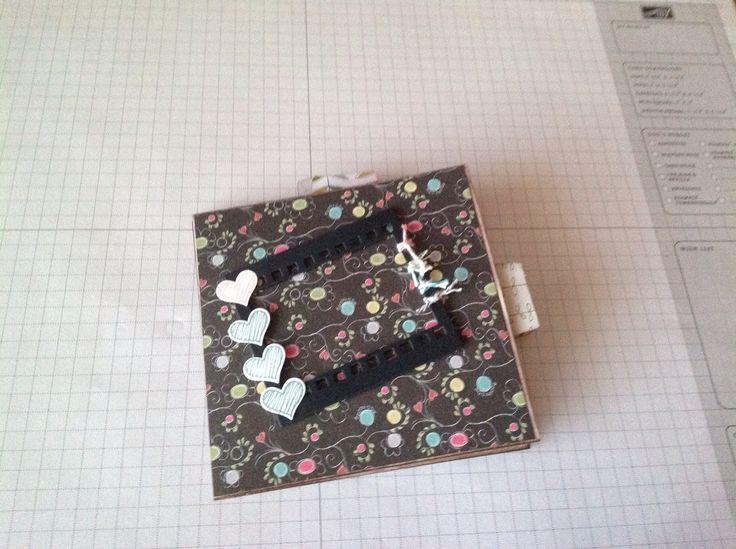 Mini-album fait avec des enveloppes #10