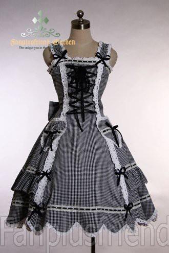 Как сшить готическое платье
