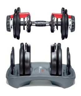 If you want to get a good strength workout at home, but don't have much space, the Bowflex 552 SelectTech Dumbbells are an ideal solution. Newly de...