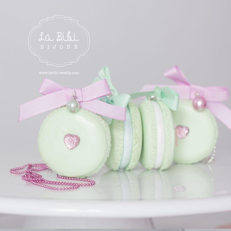 Bijoux Pastel Macarons http://labibi.weebly.com/galeria.html