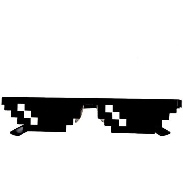 Oubao 2017 Thug Life Glasses 8 Bit Pixel Deal With It Sunglasses 2 90 Liked On Polyvore Featuri Party Sunglasses Deal With It Sunglasses Unisex Glasses