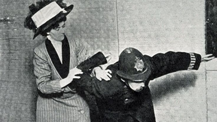 The suffragettes were exposed to violence and intimidation as they campaigned for votes for women. So they taught themselves jiu-jitsu.