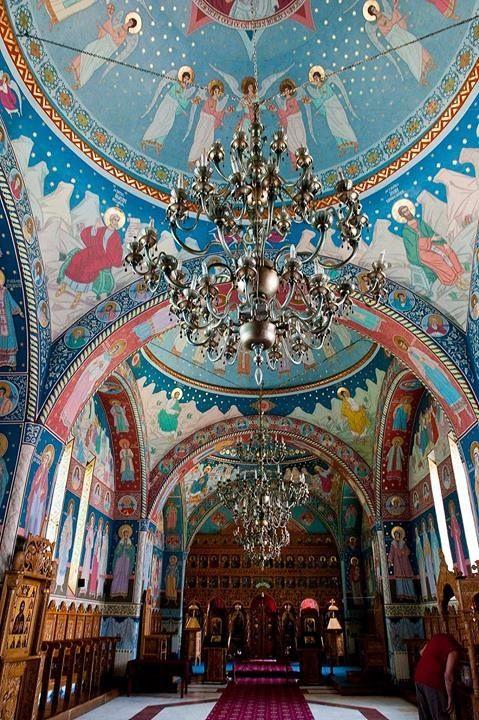 Monasterio Brancoveanu, Sambata de Sus, Romania