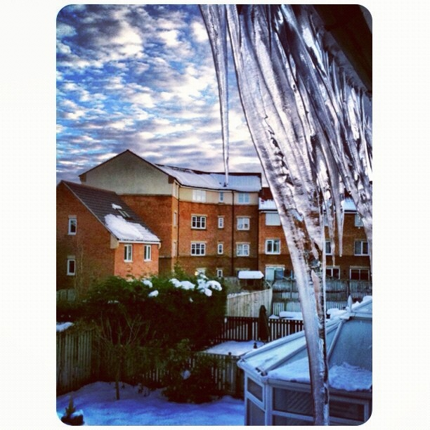 Once upon a time, snowy December from Gateshead. @kenyokania-#statigram