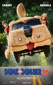Dumb and Dumber To (2014): The first one wasn't my favorite Farrelly Brother movie, but I enjoyed. This one had some gags, but not as many as #1.