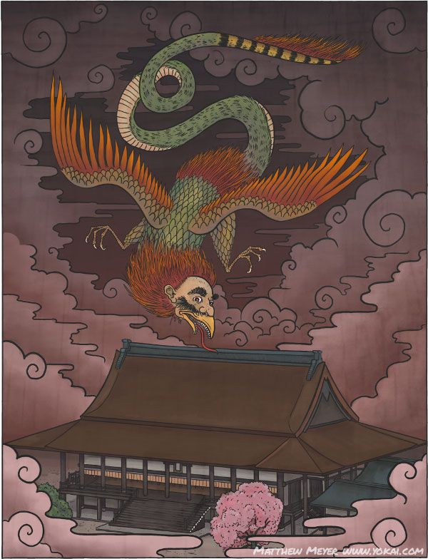 Itsumaden illustration provided byMatthew MeyerTo learn more about Itsumaden and the supernatural creatures of Japanese folklore, visit Matthew's website