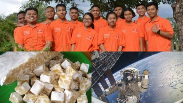Eksperimen Tempe Siswa SMA dari Medan Dibawa ke Ruang Angkasa Oleh NASA